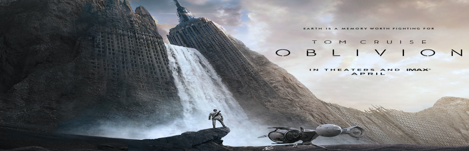 Oblivion trailer shows off Tom Cruise on a decimated Earth