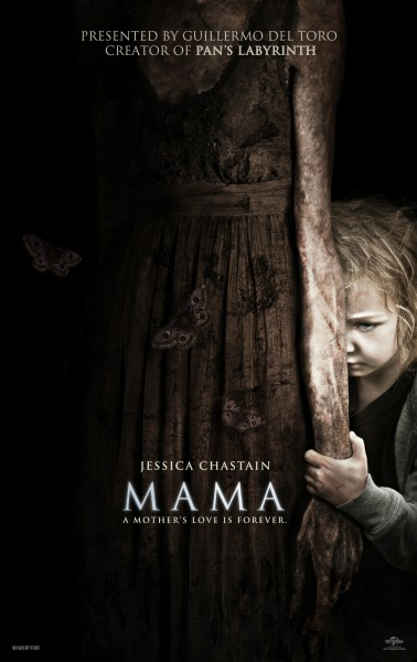Mama short film presented by Guillermo del Toro is scary!