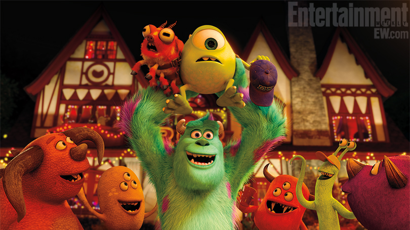 Monsters University images show Mike and Sullivan's college years