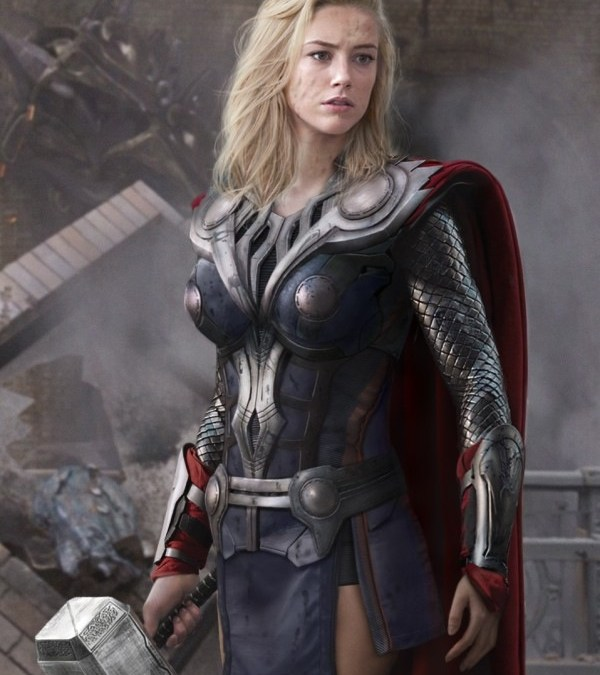 What's better than the Avengers? What if these gorgeous women played our favorite super heroes!?