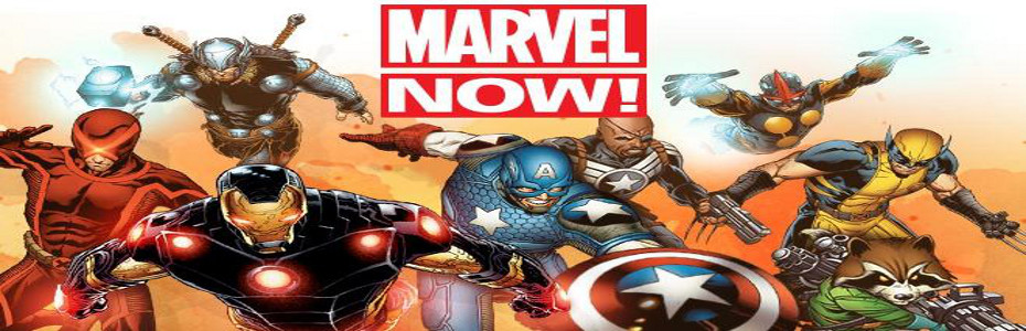 Marvel Comics & Marvel NOW! Updates: Guardians of the Galaxy, Avengers vs The Ultimates