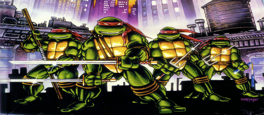 Teenage Mutant Ninja Turtles- secret set photos of inside the Turtles Lair!