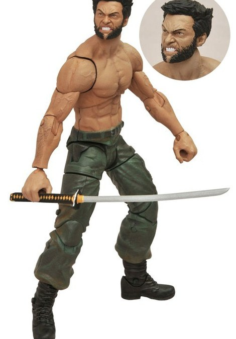 The Wolverine gets its first piece of merchandising in the form of this angry Marvel Select figure