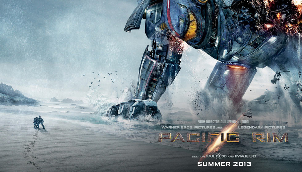 Pacific Rim news- New poster features 'Coyote Tango' Jaeger