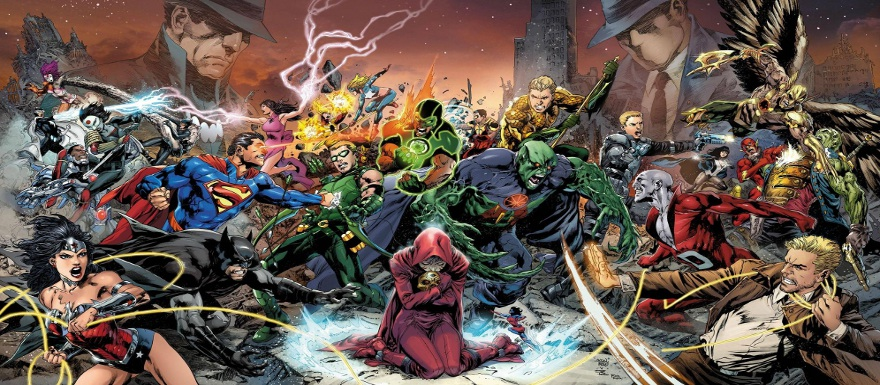 DC Comics The New 52: Trinity War will span across all 3 of the Justice League Titles!