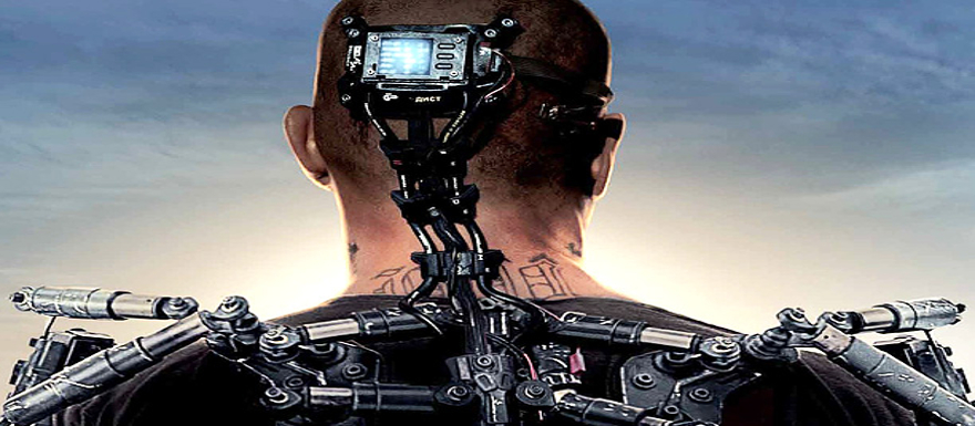Elysium- a Red-Band to get you excited for the film this weekend!