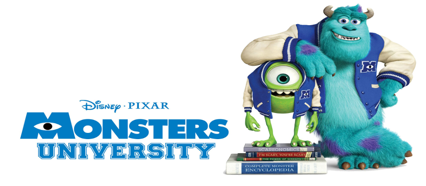 Monsters University- full length trailer gets me back in the College Spirit!