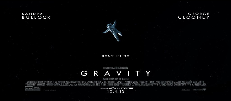Gravity- Three new trailers and posters for Alfonso Cuaron's sci-fi thriller