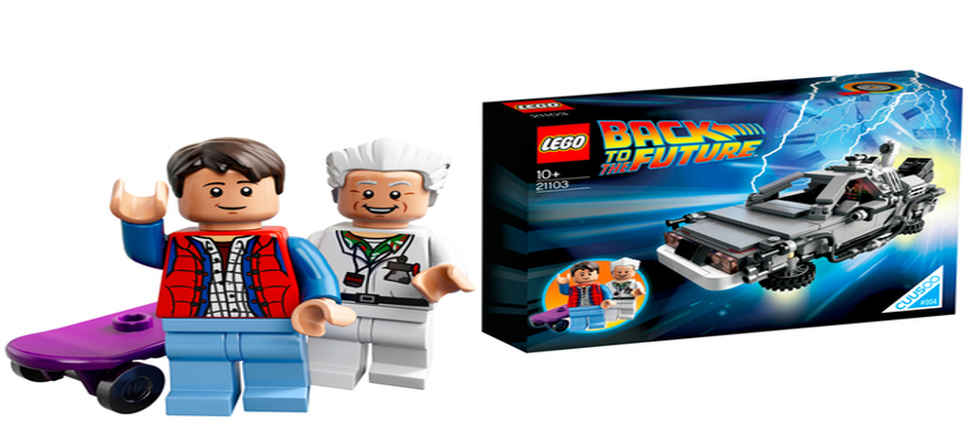 LEGO Back to the Future (set #21103) Cuusoo #004 reviewed by CynicNerd