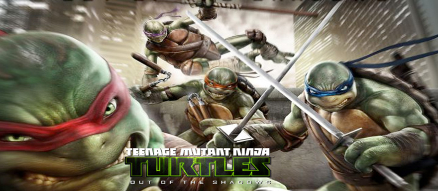 Teenage Mutant Ninja Turtles 'Out of the Shadows' Launch Trailer!