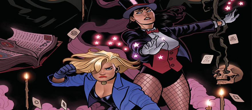 DC Comics new graphic novel by Paul Dini features Black Canary and Zatanna coming May 2014
