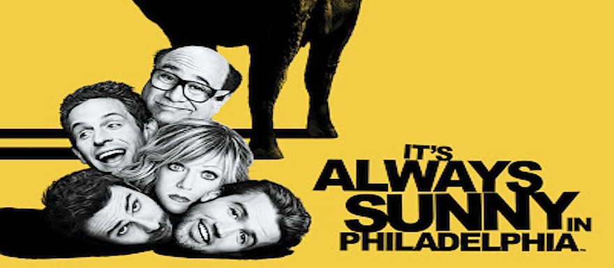It's Always Sunny – Whole new Season, whole new channel!