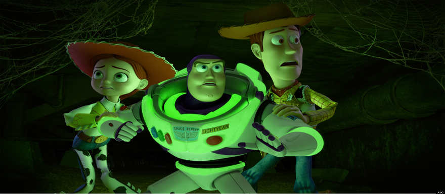 Toy Story of Terror shows off puking pez in it's TV trailer!