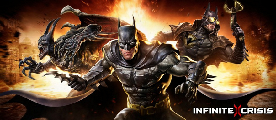 DC Comics new video game Infinite Crisis gets a behind the scenes video!