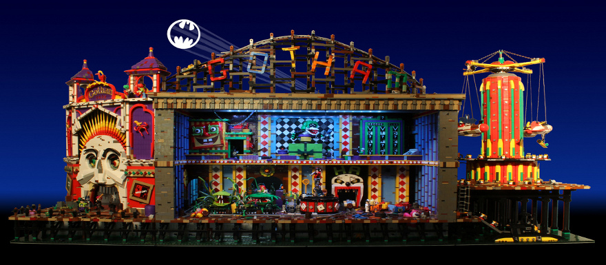 LEGO Batman – Check out this AMAZING Custom Joker's Funhouse! You have to see it to believe it!