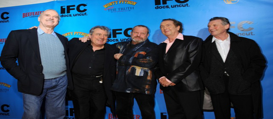 Monty Python announces a reunion! Cleese, Gilliam, Jones, Idle, and Palin are back!