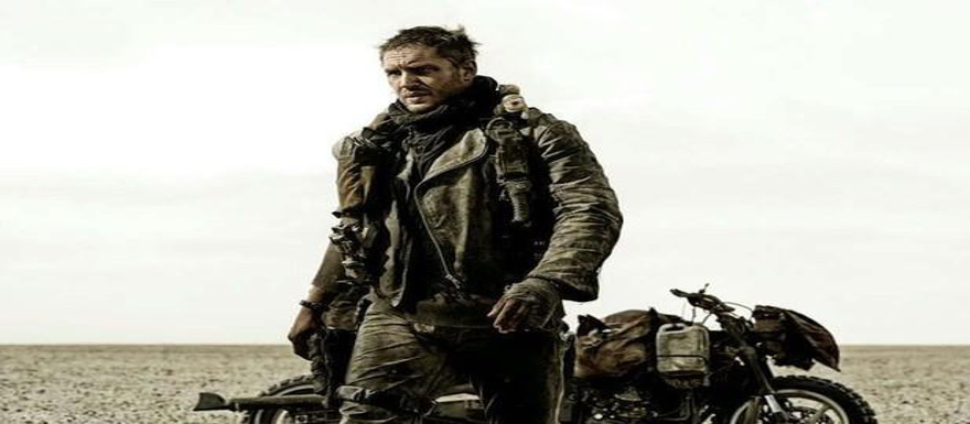Mad Max: Fury Road- first good look at Tom Hardy on the set!