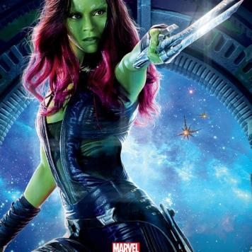 Guardians of the Galaxy Rocket Raccoon Gamora