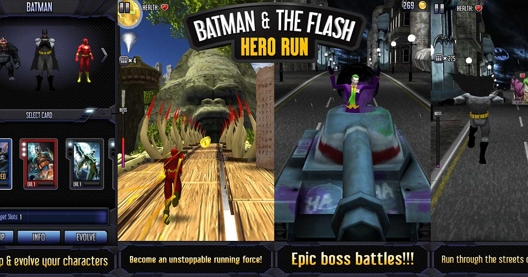 Batman & The Flash Hero Run game trailer