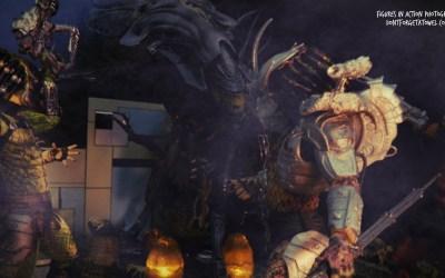 The Pursuit of Plastic discuss NECA's Predators and Aliens action figures lines!