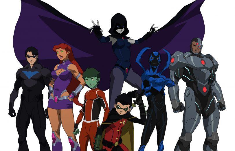 Justice League vs Teen Titans animated movie sneak peek!