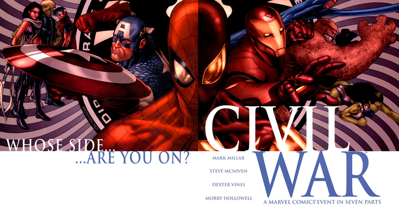 Those Geeks You Know present That Civil War Comic You Knew