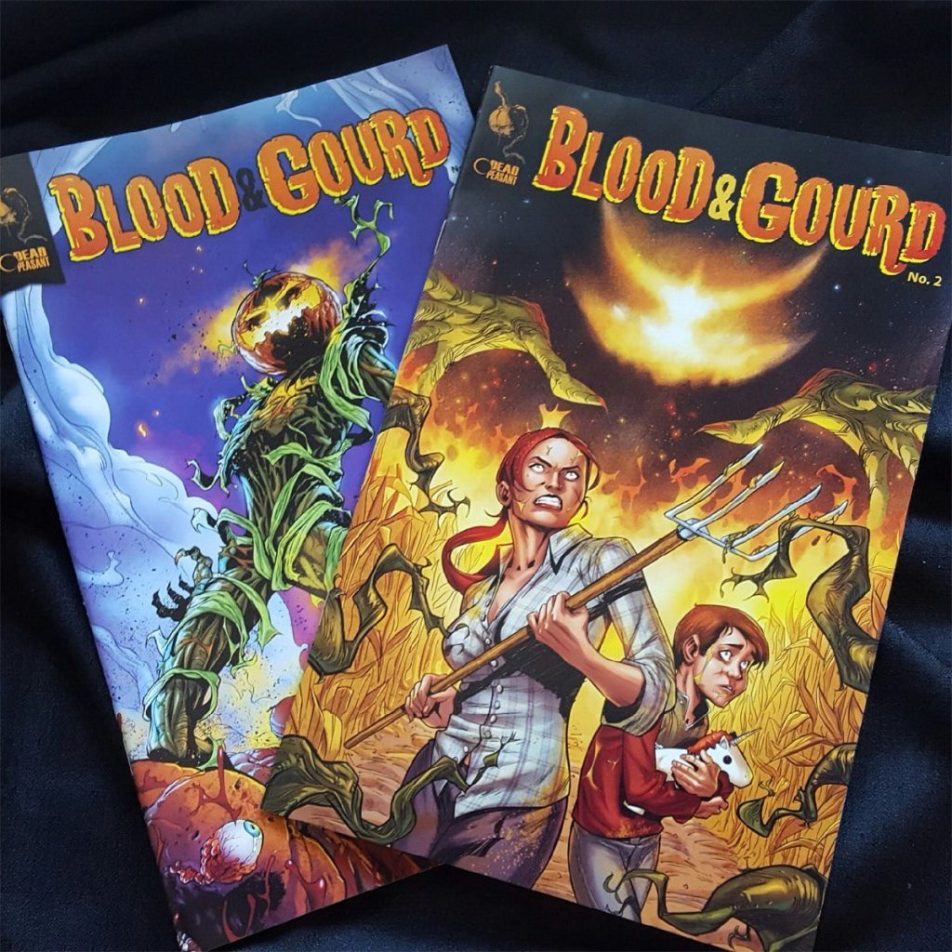 Blood and Gourd Comics