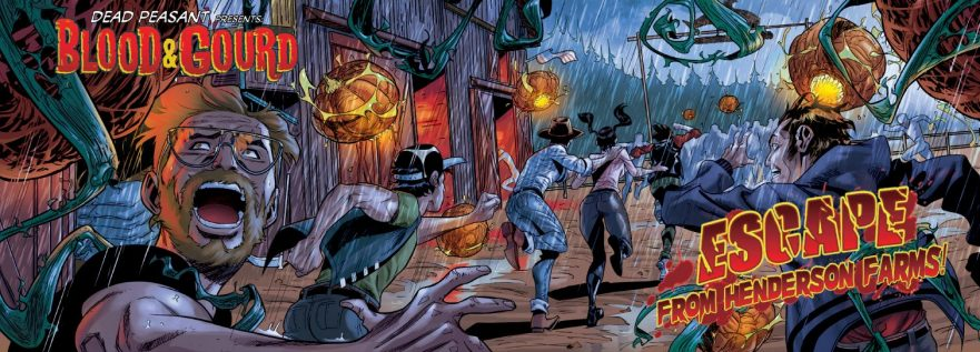 Casey reviews Blood & Gourd Issue #2: Escape From Henderson Farms