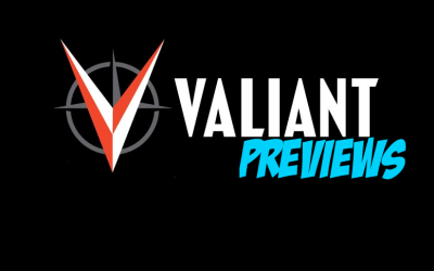 Valiant Previews: THE VISITOR #2 & ROKU #4