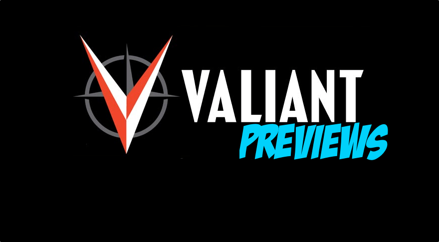 Valiant Previews: SHADOWMAN #8 (NEW ARC!) & X-O MANOWAR #20