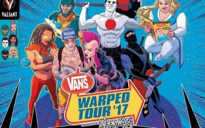 Valiant Unveils Merch, Exclusives and More for Vans Warped Tour® '17