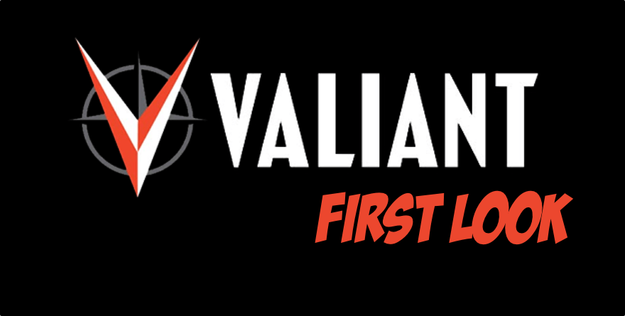 Valiant First Look: Eternity #1