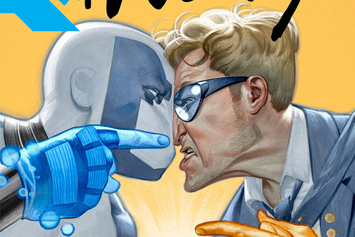 Valiant's QUANTUM AND WOODY! (2017) #1 Gets Raucous with Daniel Kibblesmith & Kano in December!