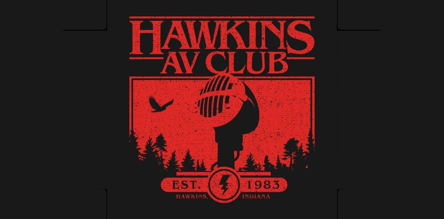 Live from Hawkins Middle AV Club