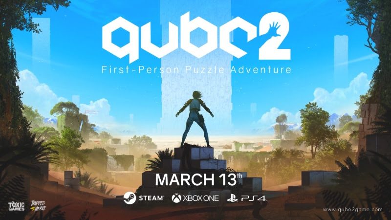 Toxic Games' Mysterious Puzzler, Q.U.B.E. 2, Out Now!