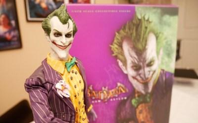 Hot Toys Arkham Asylum Joker Figure unboxing!