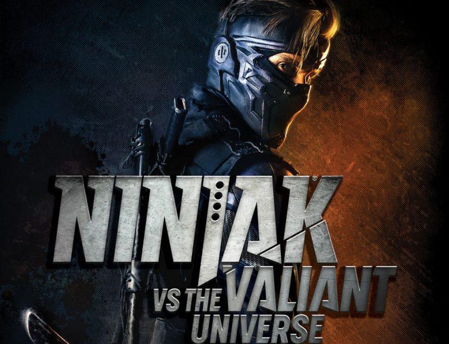 NINJAK VS. THE VALIANT UNIVERSE premieres April 21st on Comicbook.com