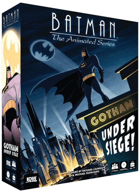 Batman game IDW