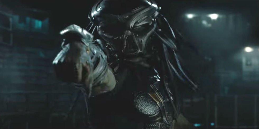 The first Teaser Trailer for The Predator is here!