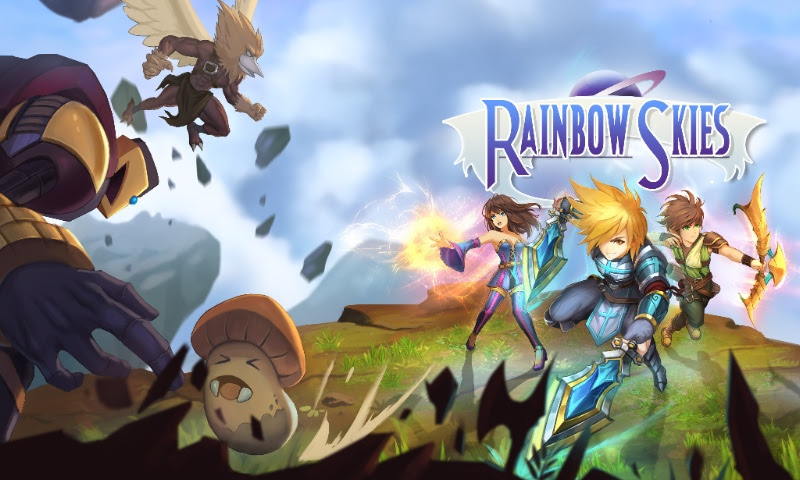 FANTASY TURN-BASED RPG 'RAINBOW SKIES' COMING to Playstation in June!
