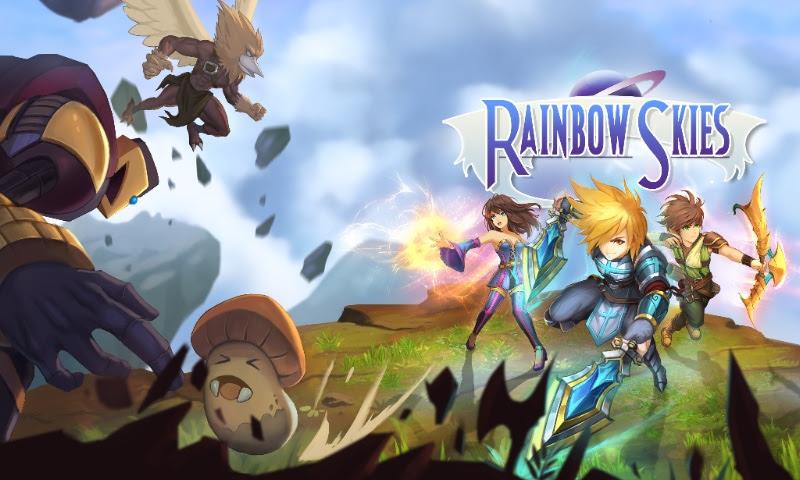 FANTASY TURN-BASED RPG 'RAINBOW SKIES' COMING to Playstation in June!