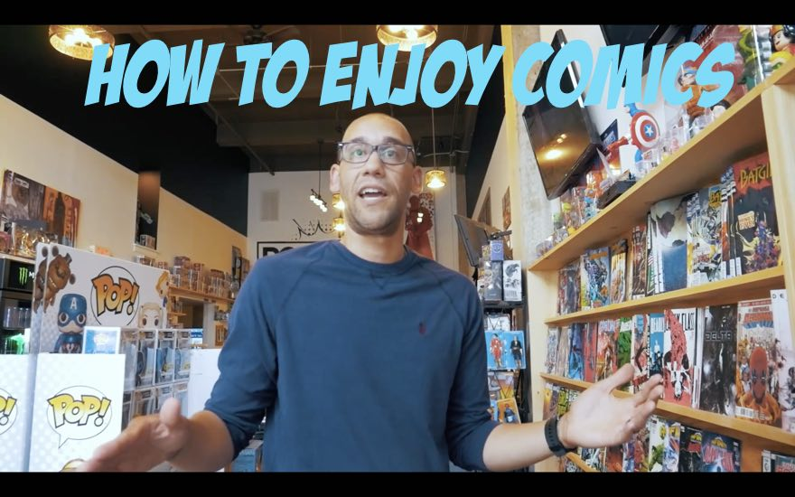 How to Enjoy Comics from Hollowed writer, Casey