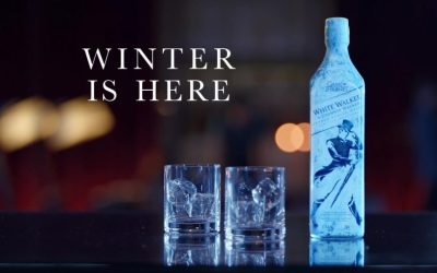 Winter is Coming from Johnnie Walker with the White Walker Whisky!