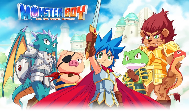 Monster Boy and the Cursed Kingdom is due out December 4th!