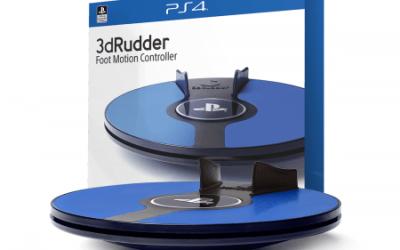 3dRudder for PlayStationVR coming in April!