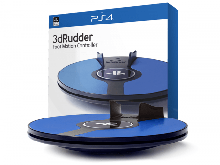 3dRudder for PlayStationVR coming in April!