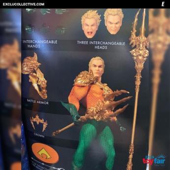 Mezco Aquaman Catalog