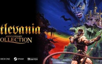 Konami 50th Anniversary 'Castlevania Collection' line-up announced!