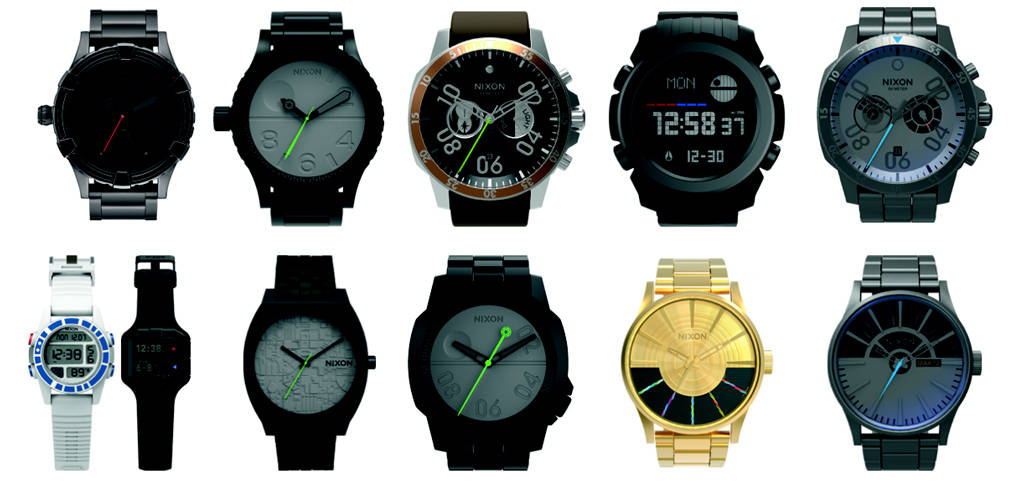 Sideshow opens pre-order for next wave of Nixon Star Wars Watches