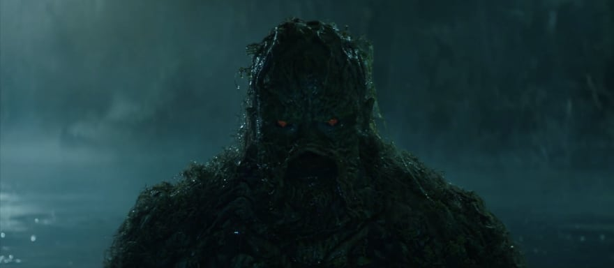 First teaser for DC Universe's Swamp Thing reveals our look at the Monster!